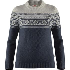 Fjällräven Övik Scandinavian Sweater Damer, navy